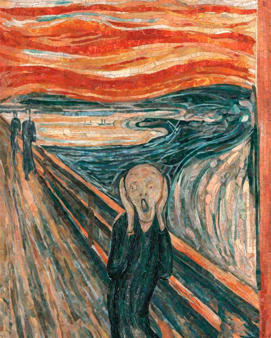the scream by edvard munch analysis A visual analysis of edvard munch's the scream recordings by connor mcgovern, noah mckenna, and andrew estes.